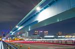 有明北橋夜景(東京都江東区都道7−484−号線)