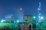 JXTGエネルギー千葉製油所夜景(千葉県市原市五井南海岸)