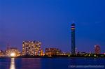 千葉港夕夜景(千葉県千葉市中央区)
