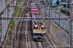 4073レコンテナ列車【HDRi】(埼玉県久喜市西大輪)
