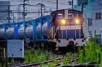 神奈川臨海鉄道千鳥線の貨物列車【HDRi】(神奈川県川崎市川崎区塩浜)