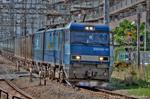 倉賀野駅発貨物列車(4074レ)【HDRi】(神奈川県川崎市川崎区鋼管通)