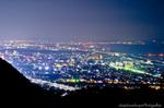 平塚夜景(神奈川県平塚市万田)