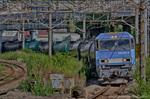 8763レ倉賀野行き臨時貨物列車【HDRi】(神奈川県川崎市川崎区鋼管通)