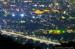 平塚市街の夜景(神奈川県平塚市万田)