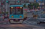 京阪 800系旧塗装路面電車【HDRi】(滋賀県大津市浜大津)