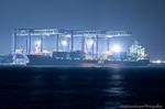 APL CAIRO 東京港荷役風景(東京都大田区城南島)