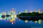 東京夜景(東京都中央区築地)