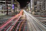 錦糸町駅前交差点夜景【HDRi】(東京都墨田区江東橋)
