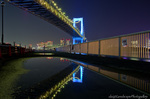 レインボーブリッジReflection夜景(東京都港区海岸)