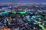 恵比寿ガーデンプレイスタワー夜景(東京都渋谷区恵比寿)