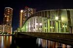 かちどき橋夜景(東京都中央区築地)