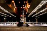 夜の日本橋(東京都中央区)
