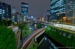 聖橋夜景(東京都千代田区神田駿河台)