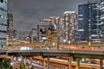 東京夜景【HDRi】(東京都港区海岸)
