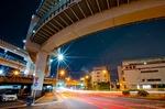 横浜港北ジャンクション夜景(神奈川県横浜市都筑区都筑区川向町)