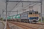 EF65 2081 石油専用列車【HDRi】(埼玉県熊谷市久下)