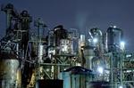 日本精塩工場夜景(神奈川県川崎市川崎区水江町)