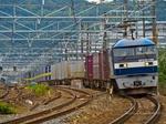 EF210-129 混載ブロックトレイン(大阪府三島郡島本町)