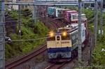 EF65-2070 海上コンテナ列車(埼玉県上尾市瓦葺)