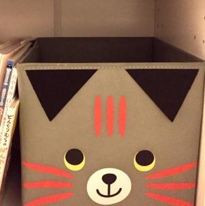3COINS アリスの箸 猫の収納ボックス