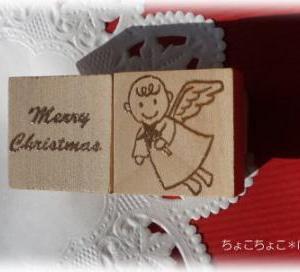 ☆クリスマス・天使のはんこ☆