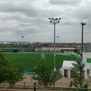 浜北のサーラグリーンフィールドで息子のサッカー大会の観戦です
