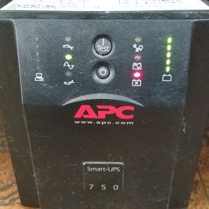 APC SUA750JB(UPS)のバッテリ交換で浜松市浜北区へパソコンサポート