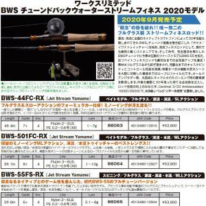 【ご予約受付中】[バリバス] ワークスリミテッド「BWS チューンドバックウォーターストリームフィネス」2020モデル
