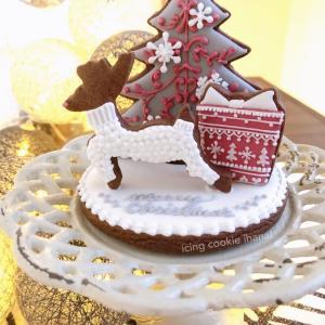 【ご予約受付開始♪】立体クッキーのクリスマスツリーレッスン♡
