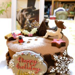 アイシングクッキー講師が作るクリスマスケーキ♡(ついに!)
