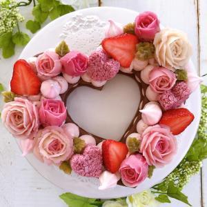 【ご予約受付開始♡】バレンタインはナンバーケーキで♡