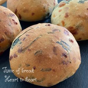 ほうれん草のパン『ポパイ ザ セーラー パン』•*¨*•.¸¸☆*・゚