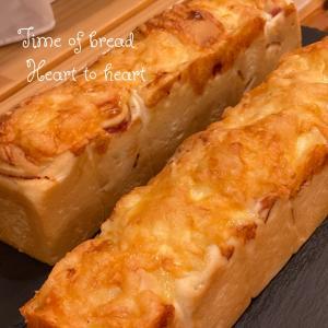オニオンベーコンのパン焼きました゚+。:.゚ஐ♡