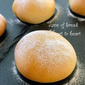 きな粉クリームパン焼き上げました゚+。:.゚ஐ♡