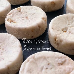 クルミチーズパンお焼き風◌゚・。.✼゚*。♩.