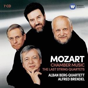 Mozart:Chamber Music (The Last String Quartets etc) Alban Berg Quartett (7CD)