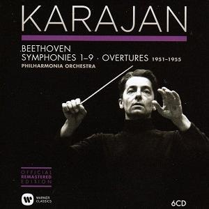 Karayan - Beethoven:Symphonies & Overtures (1951-1955) (6CD)
