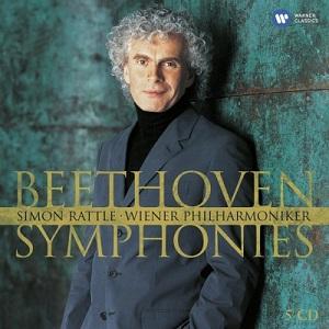 Beethoven  Symphonies 1-9 - Simon Rattle ・Wiener Philharmoniker (5CD)