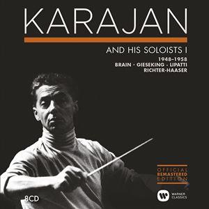 Karajan:Karajan & His Soloists 1948-1958 (8CD)