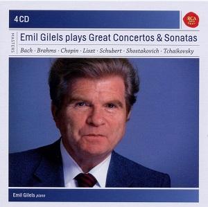 Emil Gilels Plays Concertos & Sonatas (4CD)