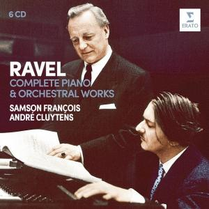 Ravel:Complete Piano & Orchestral Works - Samson François (6CD)