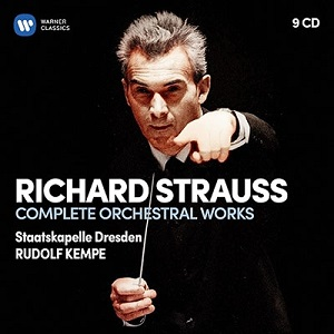 R.Strauss:Complate Orchestral Works - Rudolf Kempe (9CD)