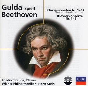 Gulda Spielt Beethoven - Complete Piano Sonatas, Complete Piano Concertos (12CD)