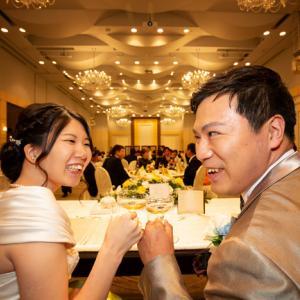 ホテルメルパルク横浜での結婚式 Part3 (披露宴)