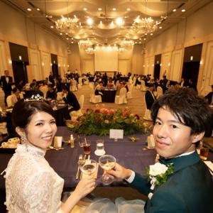 ホテル メルパルク横浜での結婚式 part3 (披露宴)