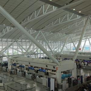 今日の福岡国際空港