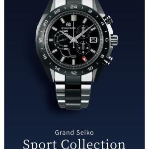Sport Collection  グランドセイコー(^_^)(^.^)(^^)
