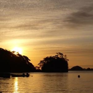 陸前浜田漁港の朝 2014