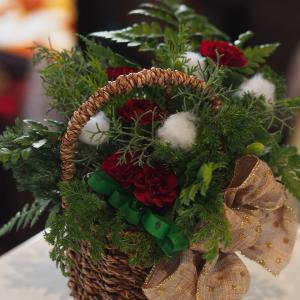 クリスマスツリーアレンジメント@ケアハウスさま